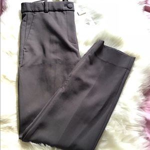 NWT J. Crew gray cropped dress pants size 10